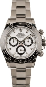 Pre-Owned Rolex Daytona 116500 White Ceramic Watch