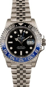 New Rolex GMT-Master II Blue Black Batman