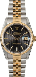 Pre-Owned 36MM Rolex Datejust 16233 Tapestry Dial
