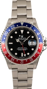 Pre-Owned Rolex 'Pepsi' 16710 GMT Master II