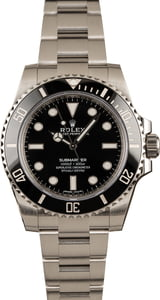 Rolex Ceramic No Date Submariner 114060