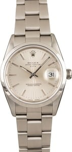 Pre-Owned Rolex Date 15200 Silver Dial Watch