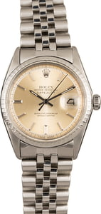 Rolex Datejust 1603 Engine Turned Bezel