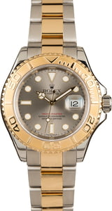 Rolex Yacht-Master 16623 Slate Dial Two Tone Bracelet