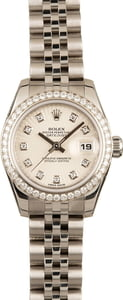 Pre-Owned Rolex Datejust 179384 Diamonds