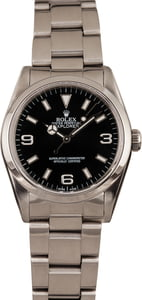 Used Rolex Stainless Steel Explorer 14270