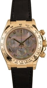 Rolex Daytona Leather Band