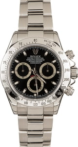 Rolex Daytona Steel 116520 Black Dial