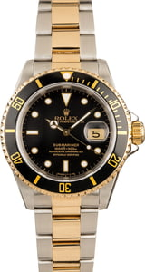 Rolex Submariner 16613 Black