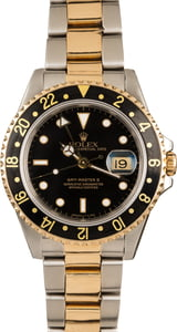 Men's Rolex GMT-Master II Ref 16713 Two Tone Oyster
