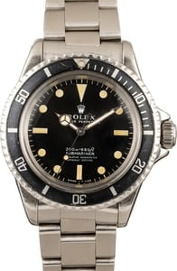 Vintage 1967 Rolex Submariner 5512 Meters First Dial