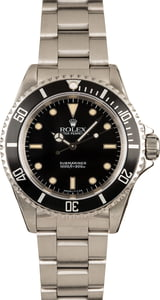 Men's Rolex Submariner 14060 Black Dial