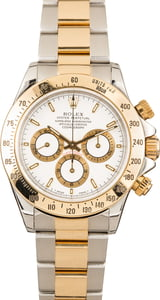 Authentic Rolex Daytona 16523 White Dial