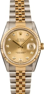 Rolex Diamond Dial Datejust