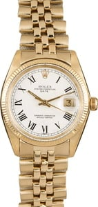 Pre-Owned Rolex Date 1503 Roman Dial