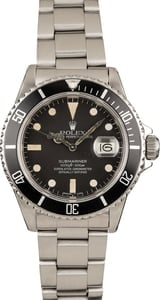Rolex Submariner 16800 Stainless Steel Oyster