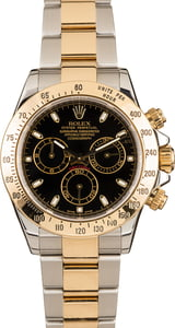 Pre-Owned Rolex Daytona 116523 Black Dial