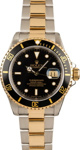 Pre-Owned 40MM Rolex Submariner 16613 Luminous Dial