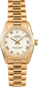 Rolex President 68278 Yellow Gold 31mm