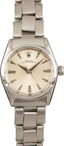 Pre-Owned Rolex Oyster Perpetual 6548 Silver Dial