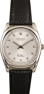 Pre-Owned Rolex Cellini 4243 White Gold