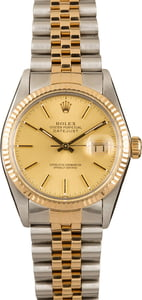 Pre-Owned Rolex Two-Tone Datejust 16013