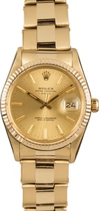 Pre-Owned Rolex Date 15037 Oyster Rivet