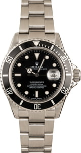 Pre-Owned 40MM Rolex Submariner 16610