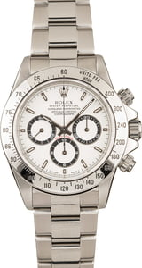 Pre-Owned 40MM Rolex Daytona 16520 White Dial