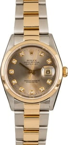Rolex Datejust 16203 Diamond Dial