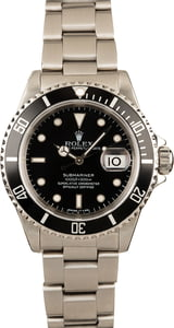 Rolex Submariner 16610 Black Dial Stainless Steel