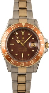 Vintage Rolex GMT-Master 1675 Nipple Dial