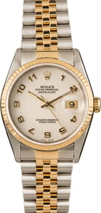 Pre-Owned Rolex DateJust 16233 Arabic Markers