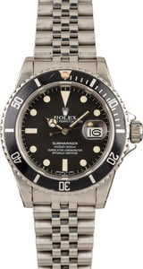 Rolex Black Submariner 16800