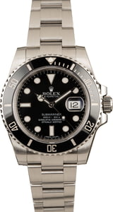 Rolex Submariner 116610 Black Dial Ceramic Bezel