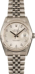 Pre-Owned Rolex Datejust 16234 Diamond Dial