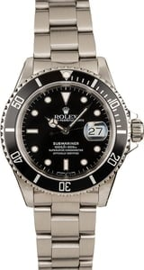 Submariner Rolex 16610 Oyster Band Black Dial