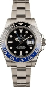 Men's Rolex GMT-Master II Ref 116710 'Batman' Insert