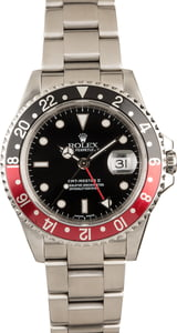 Rolex GMT-Master II 'Coke' Ref 16710 Stainless Steel Watch