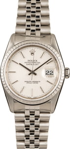 Rolex Stainless Datejust 16220