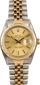 Pre-Owned Rolex Datejust 16013 Index Dial Watch