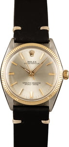 Vintage 1966 Rolex Oyster Perpetual 1005 Silver Dial