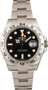 Pre-Owned Rolex Explorer II 216570 Black 42MM