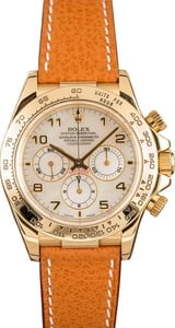 Pre-Owned Rolex Daytona 16518 Mother of Pearl Dial
