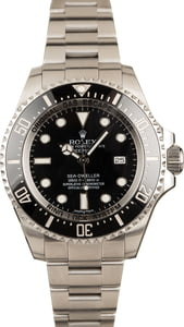 Used Rolex Sea-Dweller 116600 Stainless Steel Watch T