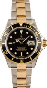 Pre-Owned 40MM Rolex Submariner 16613 Two-Tone