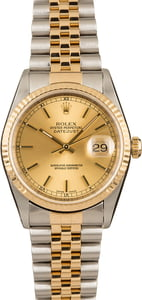 Genuine Rolex Datejust 16233