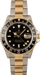 GMT-Master II Rolex 16713 Steel and Gold