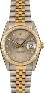 Rolex Datejust 16233 Diamond