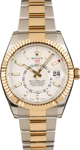 Pre-Owned Rolex Sky-Dweller 326933 White Dial